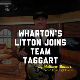Wharton's Litton Joins Team Taggart | by Matthew Manuri | SoFloBulls.com |