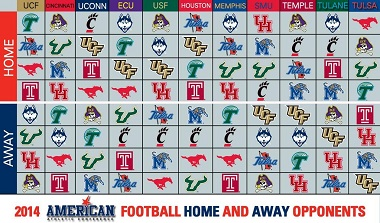 2014 AAC Intraconference Schedules | SoFloBulls Blog