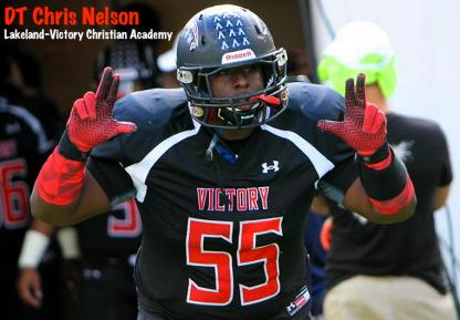 DT Chris Nelson (Victory Christian Academy:Lakeland, FL) | DT Top Three: USF in Hunt for Nelson | SoFloBulls Blog | 2014