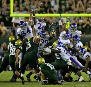 Bonani's FG to seal the victory | Kansas 2008