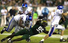 USF DE George Selvie wreaking havoc | Kansas 2008