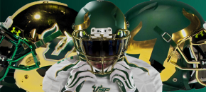 #USFSwag-USF's Revamped Helmet Game FI   SoFloBulls.com 2014