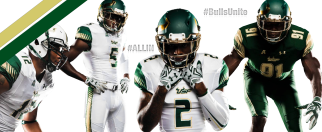#BullsUnite New 2015 USF Football Uniforms Facebook Cover Photo CLEAN by Matthew Manuri (3568x1462)