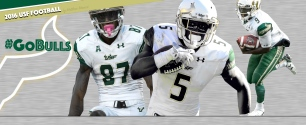 2016 USF Football Mack Adams Flowers Facebook Cover Image 99% by Matthew Manuri (3568x1462)