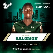 USF Class of 2016 Chronicle: WR Darnell Salomon by Matthew Manuri | SoFloBulls.com