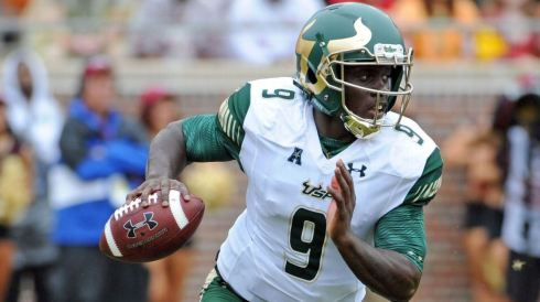 AAC Coaches Anonymous Comments on Conference Teams - USF QB Quinton Flowers SNAP (1293x725)