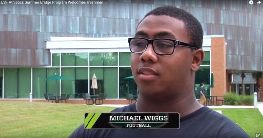 USF Welcomes the Class of 2016 Michael Wiggs (06.29.2016) (1903x998)