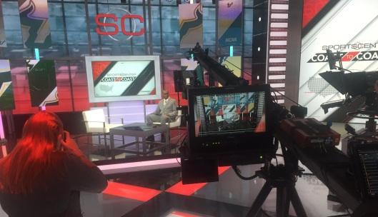 Video-South Florida Head Coach Willie Taggart on SportsCenter 08.01.2016 by Matthew Manuri (2046x1178)