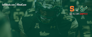 #BeatCuse 2016 USF Football Gameday Facebook Image 16 Bit sRGB FINAL 16MB by Matthew Manuri (3568x1462)