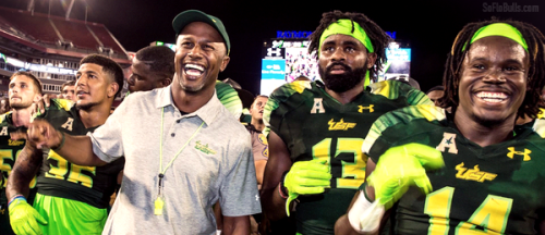 USF Coach Willie Taggart Joins Rick and Tom on 620WDAE (09.13.2016) (600x260)