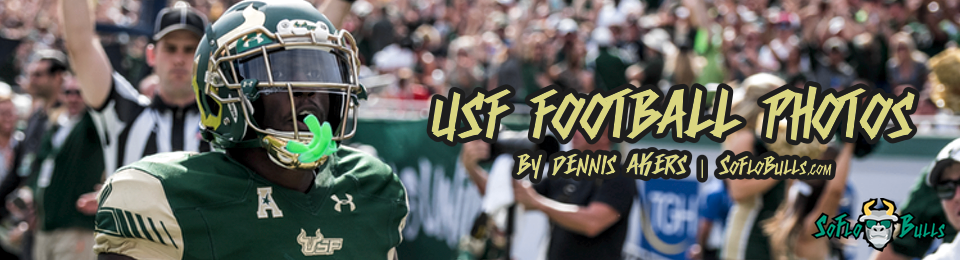 USF Football Photos by Dennis Akers Feature Image | SoFloBulls.com