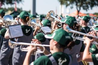 FSU vs USF 2016 11 - White Hot Band Horns 1 by Dennis Akers (5918x3951)