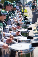 FSU vs USF 2016 12 - White Hot Band Drummers 3 by Dennis Akers (4016x6016)