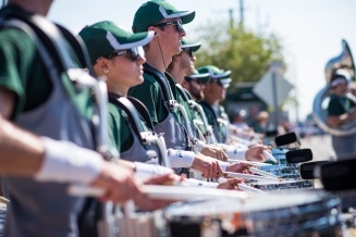 FSU vs USF 2016 13 - White Hot Band Drummers 4 by Dennis Akers (4016x6016)
