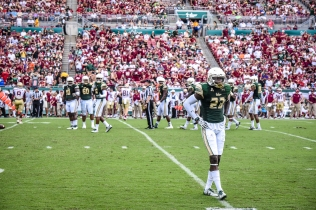 FSU vs USF 2016 73 - Hassan Childs walks off with Deadrin Senat and Bruce Hector by Dennis Akers (4512x3008)