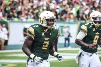 FSU vs USF 2016 96 - D'Ernest Johnson and Quinton Flowers by Dennis Akers (4512x3008)