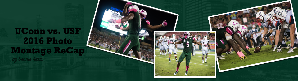 2016 UConn vs. USF Photo Montage ReCap Header Image by Matthew Manuri | SoFloBulls.com (960x262)