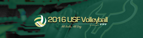 2016 USF Bulls Volleyball Featured Image FINAL FOR WEB by Matthew Manuri | SoFloBulls.com (960x260)