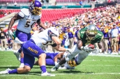 RB D'Ernest Johnson | ECU vs USF 2016 Game Photos by Dennis Akers
