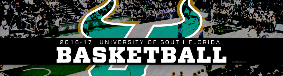 2016-17 USF Bulls Men's Basketball Header Image by Matthew Manuri | SoFloBulls.com (1920x520)