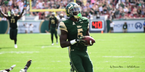 USF RB Marlon Mack Touchdown vs. UCF 2016 by Dennis Akers (525x260)