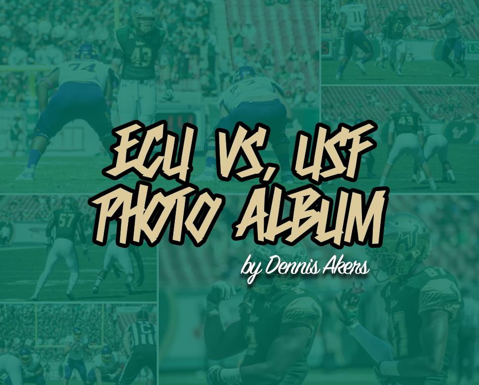 ECU vs. USF 2016 Photo Album by Dennis Akers | SoFloBulls.com