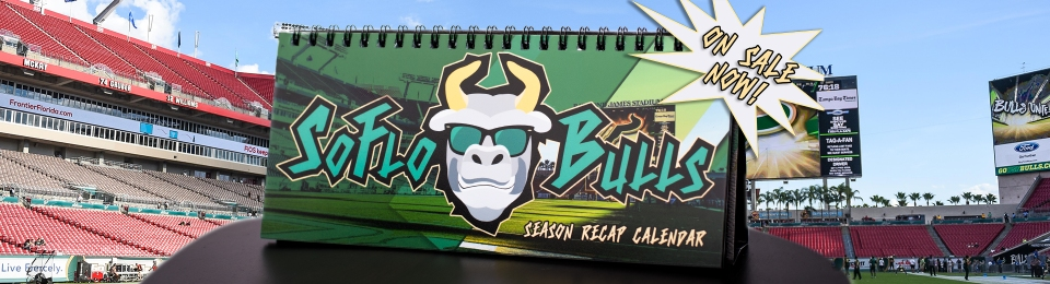 📅 SoFloBulls Store-Taking Orders for the 2017 USF Football Calendars (1920x520)
