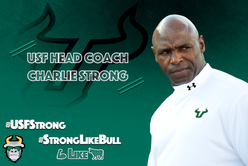 #USFStrong: USF's Home Run Hire in Charlie Strong by Matthew Manuri | SoFloBulls.com