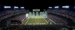 #ALLIN SoFloBulls USF Bulls Facebook Background Image Raymond James Stadium Ready for 2015 Comeback Tour by Matthew Manuri SoFloBulls.com (3568x1462)