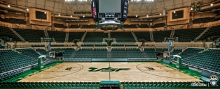 USF Men's Basketball Sun Dome Facebook Cover Photo 99% by Matthew Manuri | SoFloBulls.com (3568x1462)