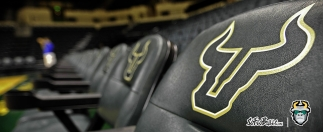 USF Sun Dome Bench Chairs Facebook Cover Image | SoFloBulls.com (3568x1462)