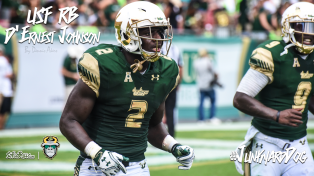 SoFloBulls.com 2016 USF Football Highlights Series - #JunkyardDog RB D'Ernest Johnson YouTube Video Cover Image II by Dennis Akers (1280x720)