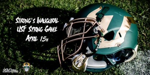 Strong's Inaugural USF Spring Game April 15th by Dennis Akers | SoFloBulls.com FI (500x251)