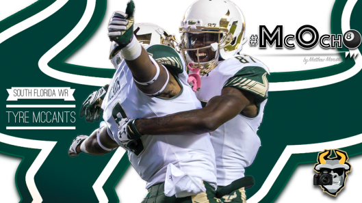 🎥 SoFloBulls.com 2016 USF Football Highlights Series: #McOcho WR Tyre McCants by Matthew Manuri
