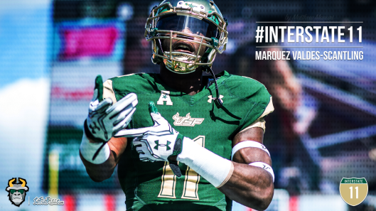 🎥 SoFloBulls.com 2016 USF Football Highlights Series: #Interstate11 WR Marquez Valdes-Scantling | SoFloBulls.com