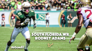 🎥 SoFloBulls.com 2016 USF Football Highlights Series: #HeGone87 WR Rodney Adams | SoFloBulls.com