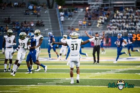 128 - USF vs. San Jose State 2017 - USF S Nate Ferguson by Dennis Akers | SoFloBulls.com (5325x3555)