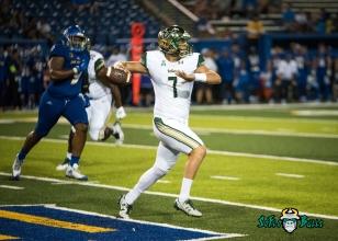 133 - USF vs. San Jose State 2017 - USF QB Brett Kean by Dennis Akers | SoFloBulls.com (5241x3744)