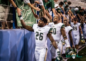 142 - USF vs. San Jose State 2017 - USF S Craig Watts Bruce Hector by Dennis Akers | SoFloBulls.com (4859x3471)