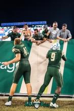 182 - Temple vs. USF 2017 - USF QB Quinton Flowers Auggie Sanchez Post Selfie by Dennis Akers | SoFloBulls.com (3790x5677)
