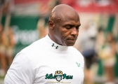 2 - Illinois vs. USF 2017 - USF HC Charlie Strong by Dennis Akers | SoFloBulls.com (5178x3699)
