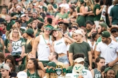 22 - Illinois vs. USF 2017 - USF Fans in Crowd by Dennis Akers | SoFloBulls.com (6016x4016)