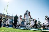 24 - USF vs. San Jose State 2017 - USF OL Grant Polk by Dennis Akers | SoFloBulls.com (5309x3544)