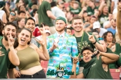 25 - Illinois vs. USF 2017 - USF Fans in Crowd by Dennis Akers | SoFloBulls.com (6016x4016)