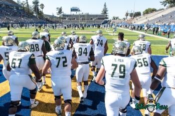 26 - USF vs. San Jose State 2017 - USF OL Hal Roberson Brooks Larkin Kirk Livingstone Grant Polk by Dennis Akers | SoFloBulls.com (5821x3886)