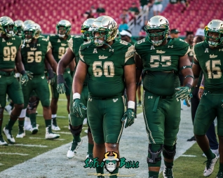3 - Temple vs. USF 2017 - USF DT Bruce Hector Eric Mayes by Dennis Akers | SoFloBulls.com (3997x3198)