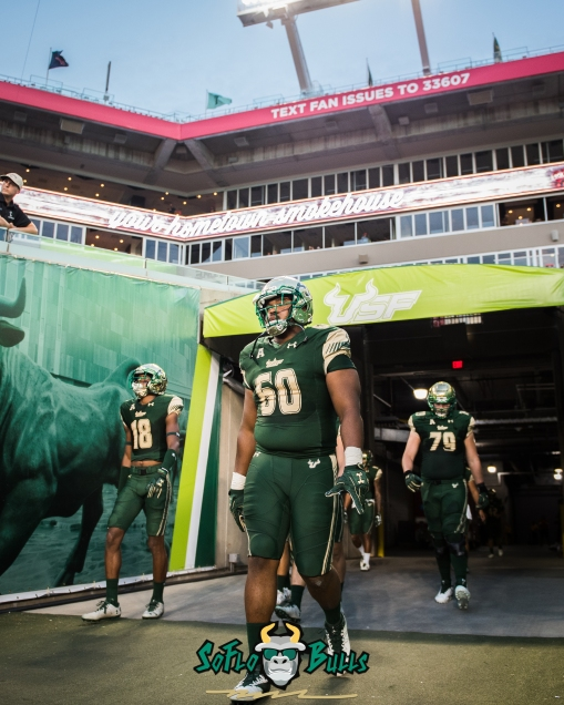 30 - Temple vs. USF 2017 - USF DT Bruce Hector by Dennis Akers | SoFloBulls.com (3146x3933)