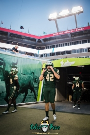 32 - Temple vs. USF 2017 - USF K Jake Vivonetto by Dennis Akers | SoFloBulls.com (3429x5136)