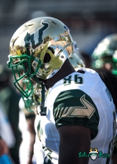 56 - USF vs. San Jose State 2017 - USF WR Stanley Clerveaux by Dennis Akers | SoFloBulls.com (2681x3753)