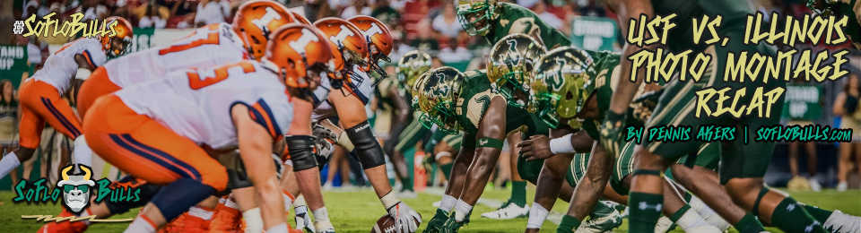 Illinois vs. USF 2017 Photo Montage ReCap by Dennis Akers | SoFloBulls.com